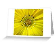Yellow. Greeting Card