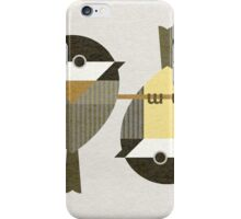 Chickadees iPhone Case/Skin