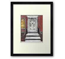 204 Washington Square,NYC Framed Print