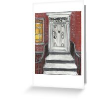 204 Washington Square,NYC Greeting Card
