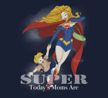 Super Mom - Blonde (darker tees) by Elisabeth Bell