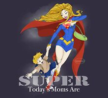 Super Mom - Blonde (darker tees) Womens Fitted T-Shirt