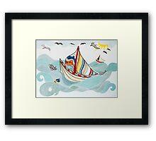 Sail Me Away Framed Print