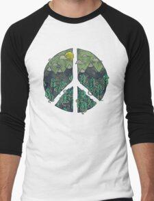Peaceful Landscape Men's Baseball ¾ T-Shirt