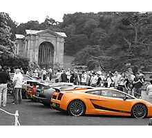 Selective coloured cars Photographic Print