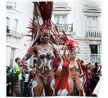 The Notting HIll Carnival - Warrior women - 2009 Poster