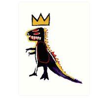 Basquiat Dinosaur Art Print