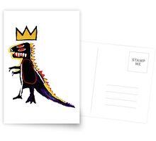 Basquiat Dinosaur Postcards