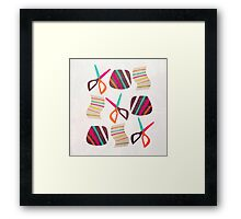 Rock Paper Scissors Framed Print