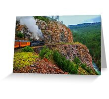 What A Ride ! Greeting Card