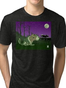 Moonlight Huntress Tri-blend T-Shirt