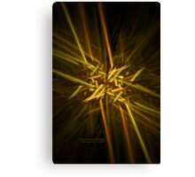 Busy Intersection Canvas Print