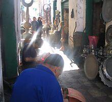 Men at Work- Markets, Libya by fifotos