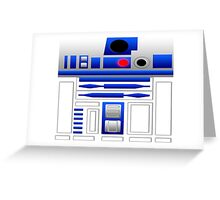 R2 Greeting Card