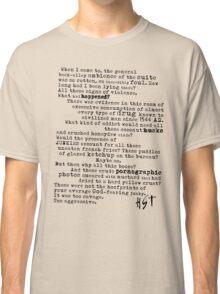 Thompsons Typewriter Classic T-Shirt