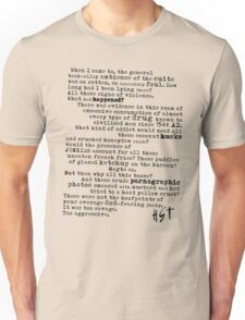 Thompsons Typewriter T-Shirt