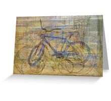 Bicycles and Tricycles Greeting Card