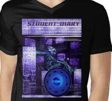 Student Diary For Aliens Mens V-Neck T-Shirt