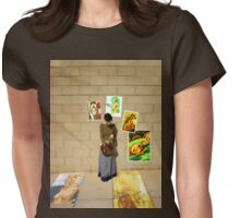 Poverty Womens Fitted T-Shirt