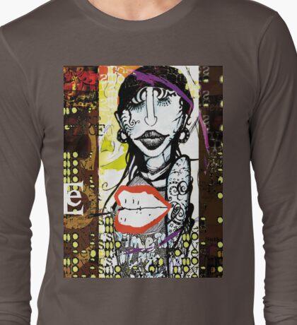 Tattoo Lady Long Sleeve T-Shirt