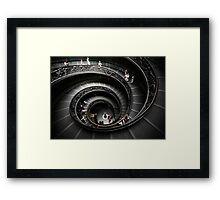 Winding Down Framed Print
