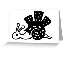 The Magic Snail Greeting Card