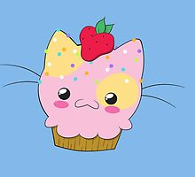 Cupcake Kitty by Shonuff  Studio