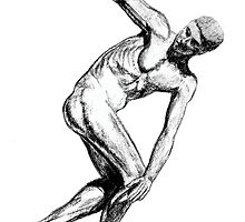 The Discus Thrower by robertemerald