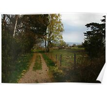 Rural, Peaceful View Poster
