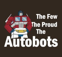 Transformers - The Few The Proud - White Font by DGArt