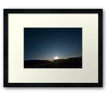 """""""Moony"""" Night Framed Print"""