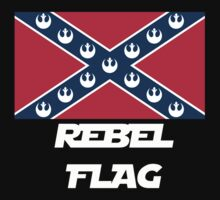 Star Wars Rebel Flag (Text Version) by xanaman