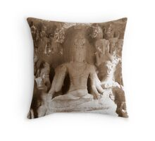 Carvings Throw Pillow