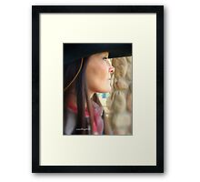Woman Of The West Framed Print