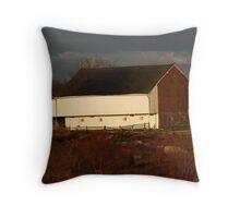 The Trossle Barn Throw Pillow