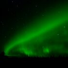 Cosmic Tapestry of Green by peaceofthenorth