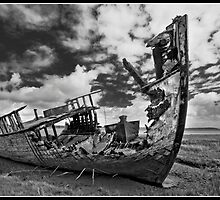 Wyre wreck from yesteryear by Shaun Whiteman