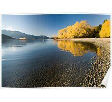 Lake Wanaka. Poster