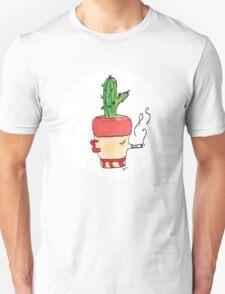Smokey Joe The Smoking Cactus   Emma Watts Unisex T-Shirt