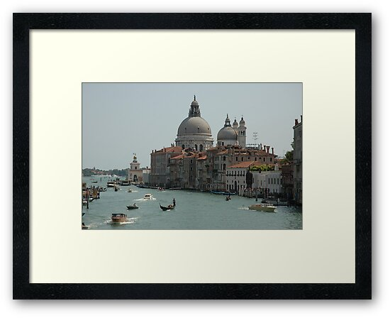 View From Accademia Bridge, Midday, 2009 by Ainsley Kellar Creations
