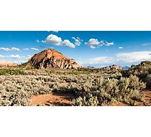 kolob plateau in zion national park Photographic Print