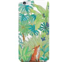 Foxy Green iPhone Case/Skin