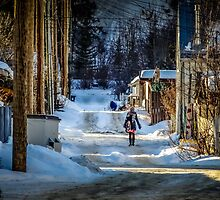 Winter Walk by Russell Charters