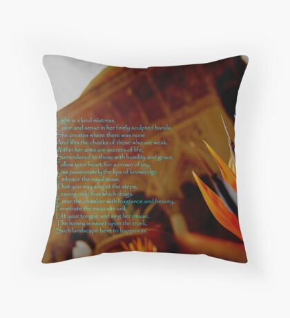 Light and Love-Monserrate Palace Throw Pillow