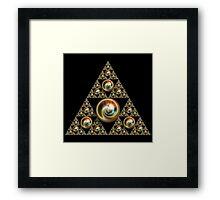Pyramid Of Incendia   Framed Print