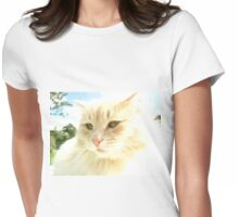 Mittens Womens Fitted T-Shirt