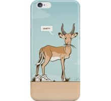 Impala wearing Sneakers iPhone Case/Skin