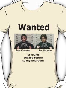Winchesters Wanted  T-Shirt