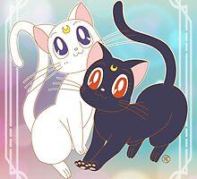 Luna & Artemis  by Rickykun