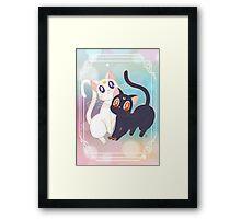 Luna & Artemis  Framed Print